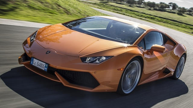 2015 Lamborghini Huracan, Front quarter view, exterior, manufacturer, gallery_worthy