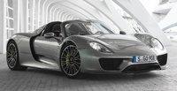 2015 Porsche 918 Spyder, Front-quarter view, exterior, manufacturer, gallery_worthy