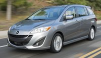 2015 Mazda MAZDA5, Front-quarter view, exterior, manufacturer, gallery_worthy