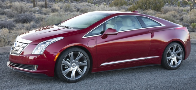 2015 Cadillac ELR, Front-quarter view. Copyright General Motors, exterior, manufacturer