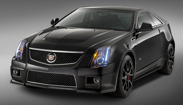 2015 Cadillac CTS-V Coupe, Front-quarter view. Copyright General Motors, exterior, manufacturer