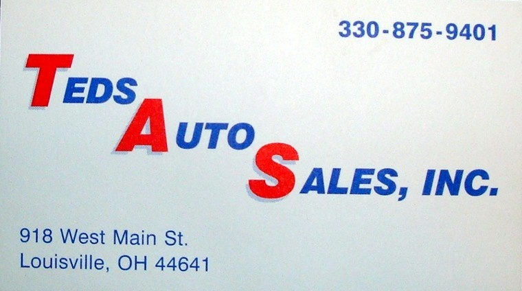 Teds Auto Sales >> Ted's Auto Sales, Inc. - Louisville, OH: Read Consumer reviews, Browse Used and New Cars for Sale
