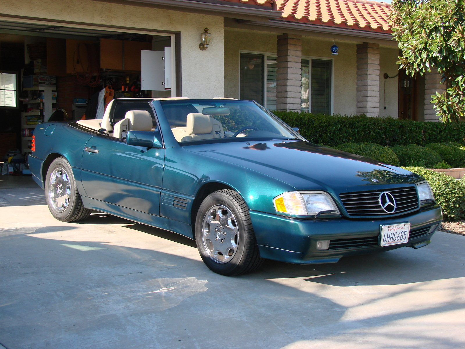 Picture of 1995 mercedes benz sl class sl500 exterior for 1995 mercedes benz sl500
