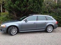 2012 Audi A4 Avant 2.0T Quattro Prestige, Side view, exterior