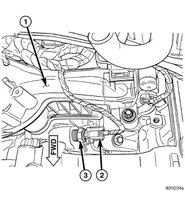 Pic X on 2005 Chrysler 300 Thermostat Location