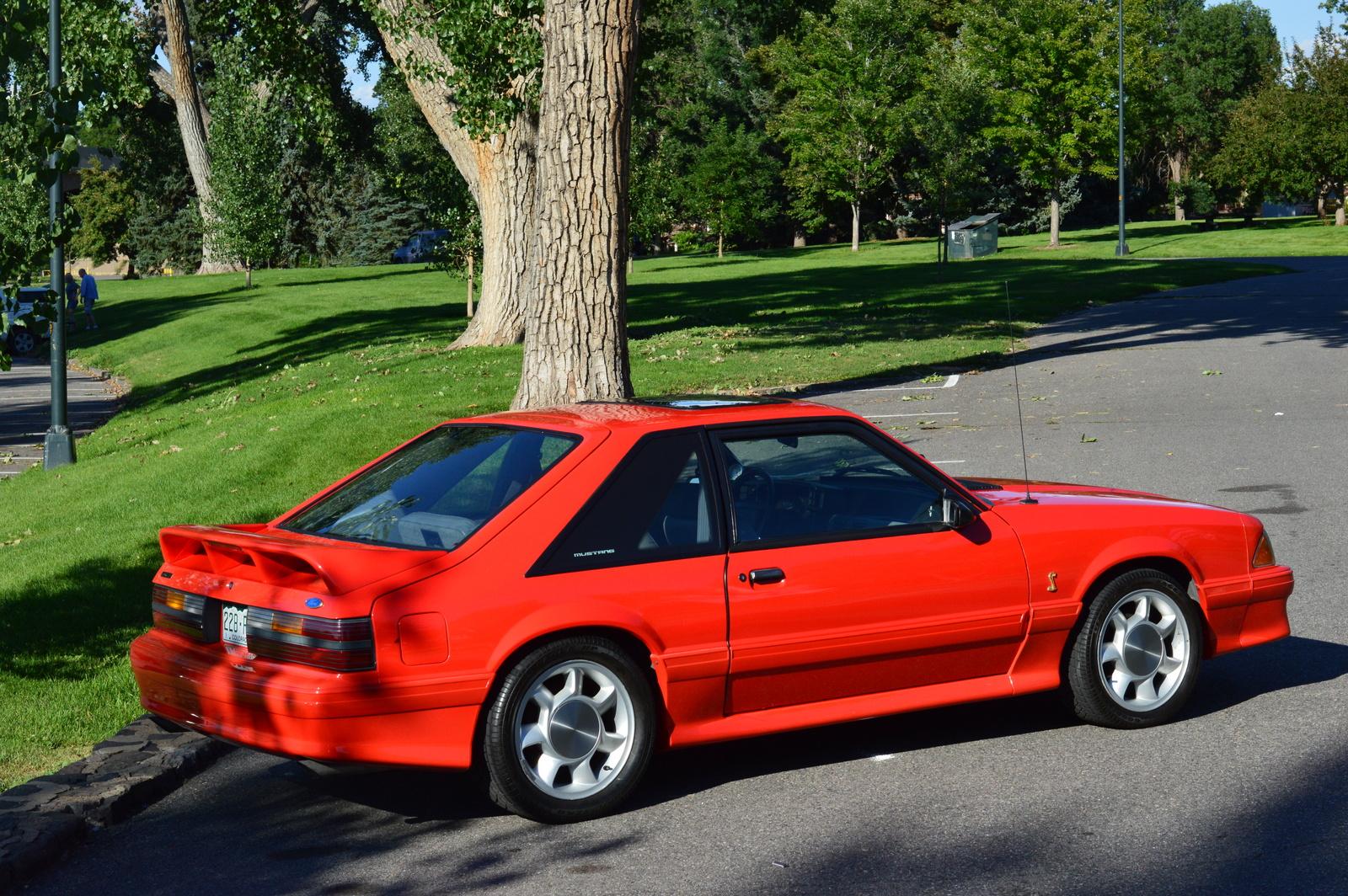 1993 ford mustang svt cobra hatchback for sale cargurus autos post. Black Bedroom Furniture Sets. Home Design Ideas