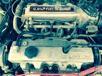 Picture of 1988 Mazda MX-6 LX Coupe, engine