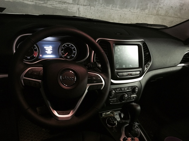 Picture Of 2015 Jeep Cherokee Trailhawk 4WD, Interior, Gallery_worthy