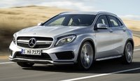 2015 Mercedes-Benz GLA-Class, Front-quarter view, exterior, manufacturer, gallery_worthy
