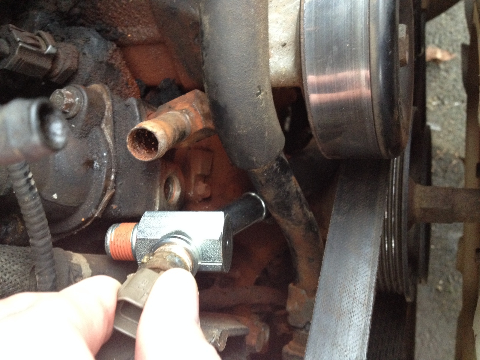 Ford ranger questions mazda b hot water