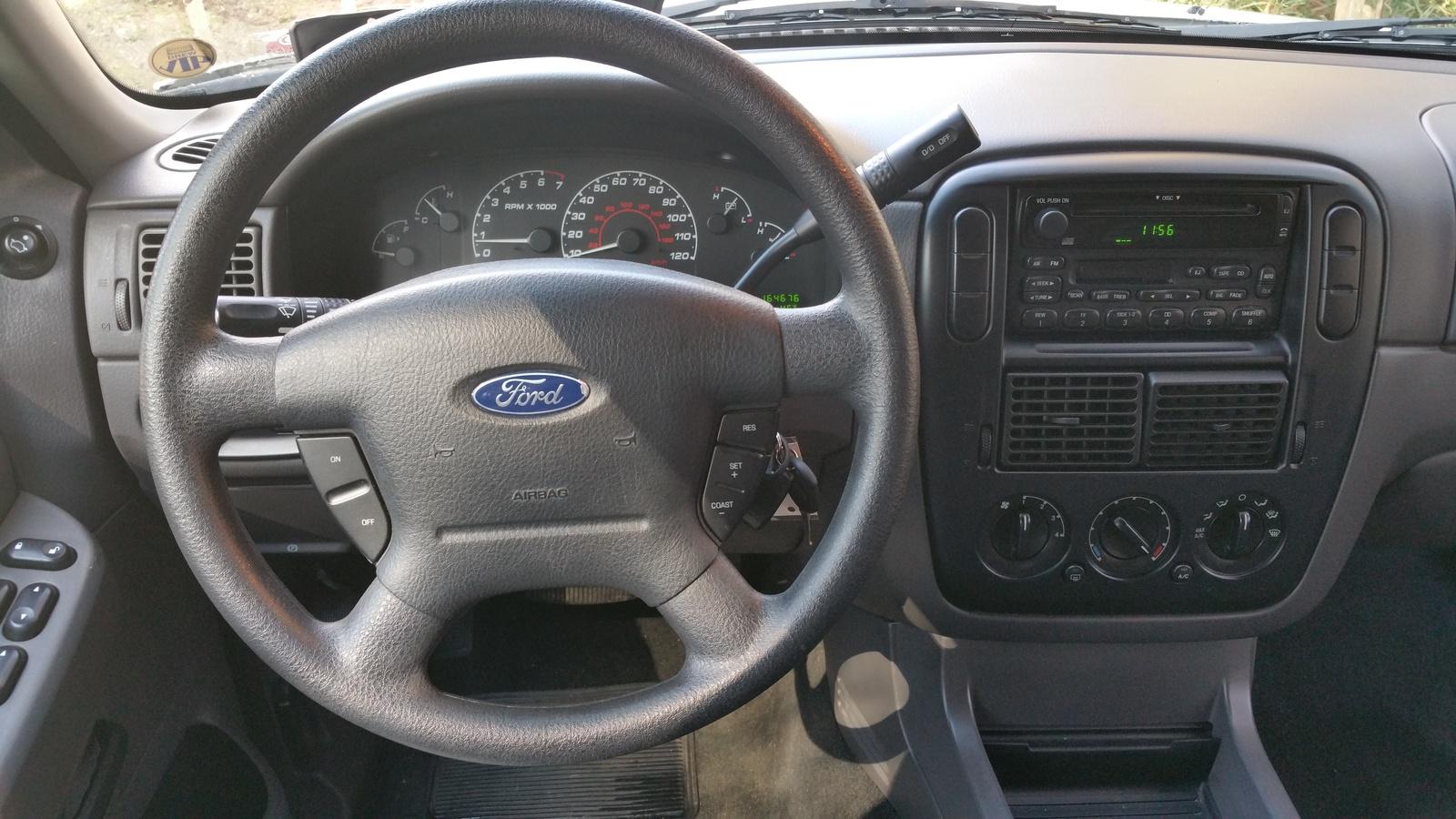 2002 Ford Explorer Interior Pictures Cargurus