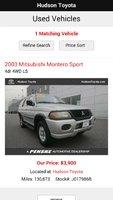Picture of 2003 Mitsubishi Montero Sport ES 4WD, exterior