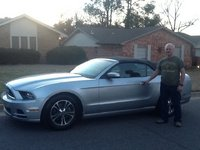 2014 Ford Mustang V6 Premium Convertible, birthday present to myself  - not my typical utilitarian ride, exterior