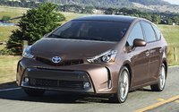 2015 Toyota Prius v, Front-quarter view, exterior, manufacturer, gallery_worthy