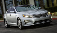 2015 Kia Optima Hybrid, Front-quarter view, exterior, manufacturer, gallery_worthy