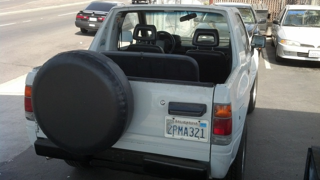 Picture of 1990 Isuzu Amigo 2 Dr S Convertible