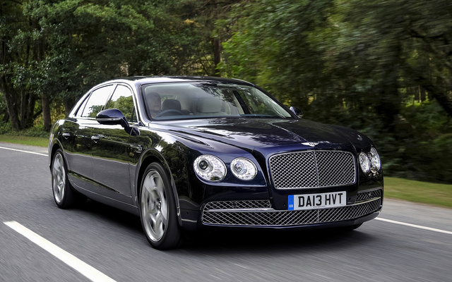 2015 Bentley Flying Spur, Front-quarter view, exterior, manufacturer