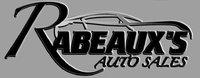 Rabeaux's Auto Sales logo