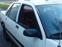 1991 Chevrolet Corsica, Side view, with my cat buddha making herself comfy, lol, exterior, gallery_worthy