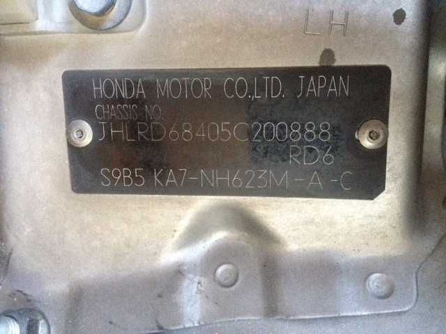Honda Cr V Questions Need Code For Radio Cargurus