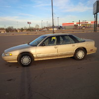 1991 Oldsmobile Cutlass Supreme, 1992, exterior