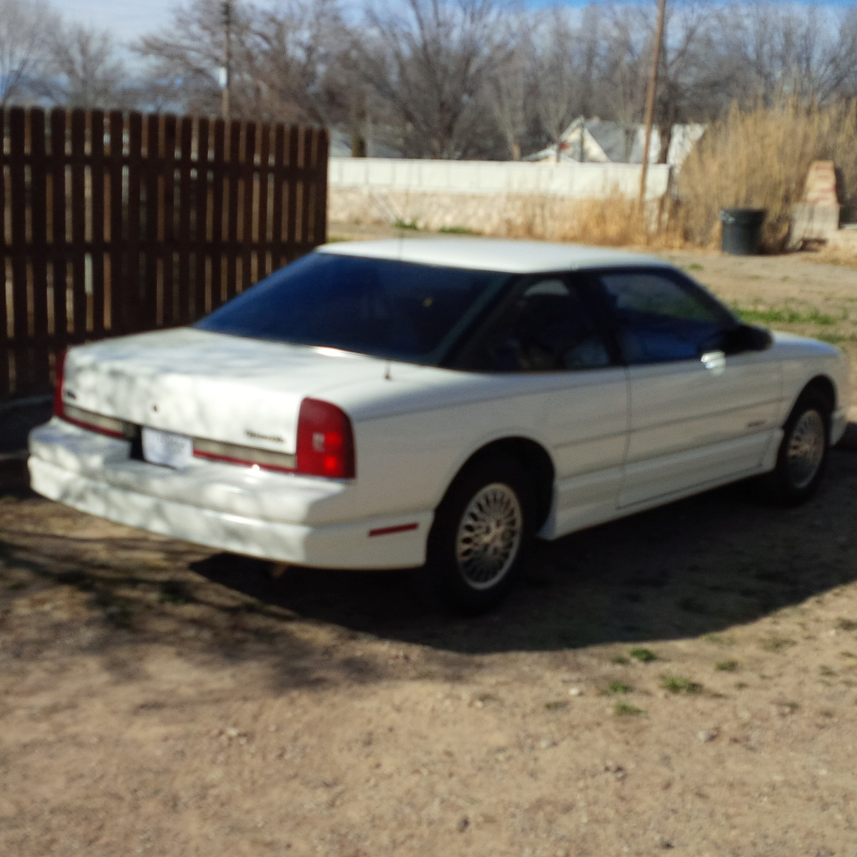 1991 Oldsmobile Cutlass Supreme, My 1991, exterior