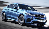 2015 BMW X6 M, Front-quarter view, exterior, manufacturer, gallery_worthy