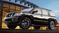 2015 Nissan Armada, Front-quarter view, exterior, manufacturer, gallery_worthy