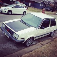1989 Volkswagen Golf 2 Dr Hatchback, The Wolf Burg, exterior, gallery_worthy
