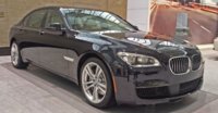 2015 BMW 7 Series, Front-quarter view, exterior