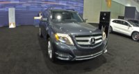 2015 Mercedes-Benz GLK-Class, Front-quarter view, exterior, gallery_worthy