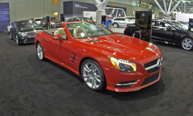 2015 Mercedes-Benz SL-Class, Front-quarter view, exterior, gallery_worthy
