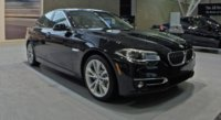2015 BMW 5 Series, Front-quarter view, exterior