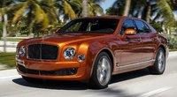 2015 Bentley Mulsanne Overview