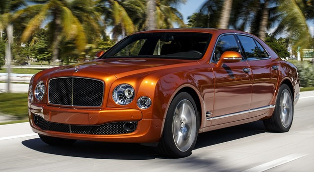 2015 Bentley Mulsanne, Front-quarter view, exterior, manufacturer