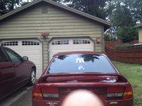 2003 Subaru Legacy L Special Edition, Back View, exterior
