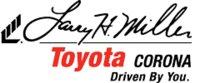 Larry H. Miller Toyota Corona logo