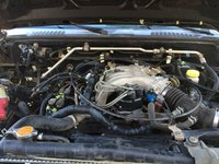 Picture of 2001 Nissan Frontier 4 Dr XE Crew Cab SB, engine
