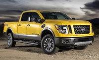 2016 Nissan Titan, Front-quarter view, exterior, manufacturer, gallery_worthy