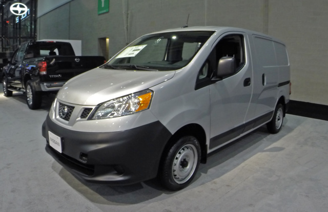 2015 Nissan NV Cargo, Front-quarter view, exterior, gallery_worthy