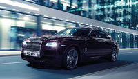 2015 Rolls-Royce Ghost, Front-quarter view, gallery_worthy