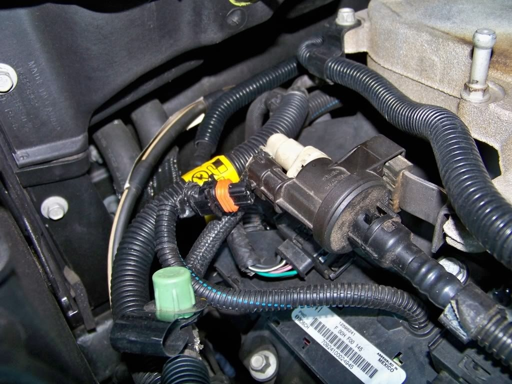 Cadillac Cts Questions Where Is Th Purge Control Valve