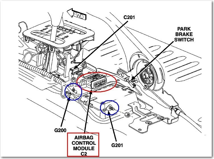 ford airbag module location  ford  free engine image for user manual download