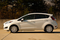 2015 Ford Fiesta SE Ecoboost side profile, exterior, manufacturer, gallery_worthy