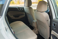 2015 Ford Fiesta SE Ecoboost rear seats, interior, manufacturer