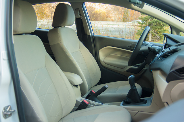 2015 Ford Fiesta SE Ecoboost front seats, interior, manufacturer, gallery_worthy
