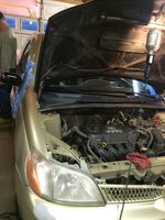 Picture of 2002 Toyota ECHO 2 Dr STD Coupe, exterior, engine