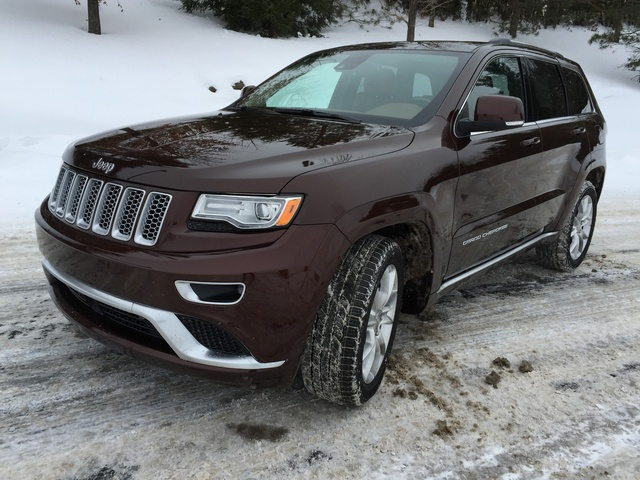 2015 jeep grand cherokee - overview