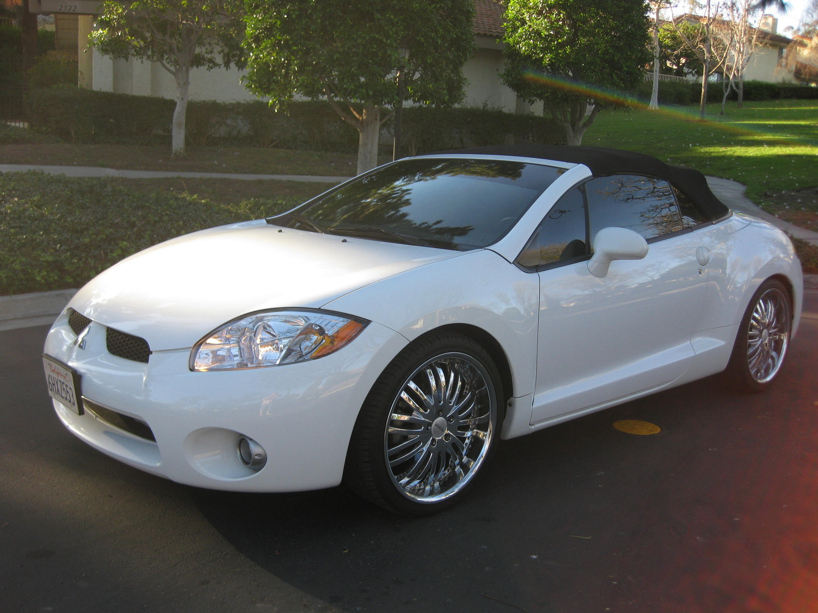 picture of 2008 mitsubishi eclipse spyder gs exterior. Black Bedroom Furniture Sets. Home Design Ideas