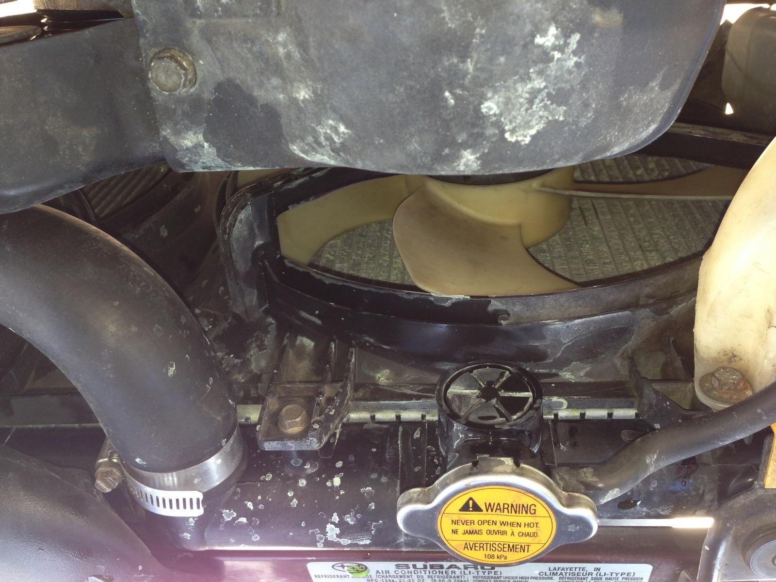 Subaru Outback Questions - Leaking coolant - CarGurus